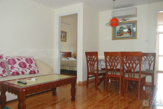 Two bedrooms apartment for rent in Tay Ho area with affordable price 5