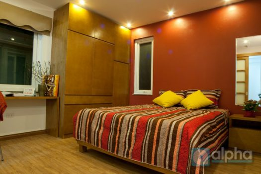 Budget one bedroom apartment for rent in Hai Ba Trung, Ha Noi. 1
