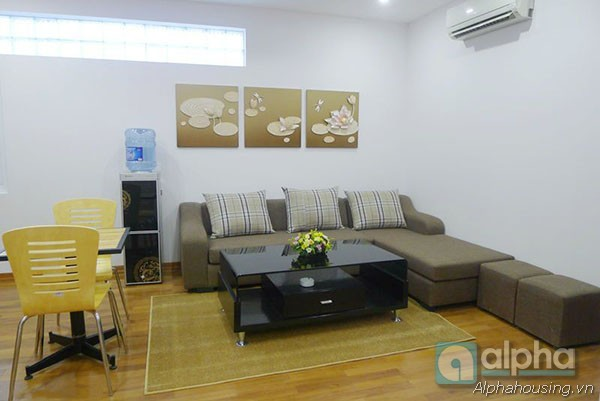 One bedroom servced apartment for rent in Ba Dinh, Ha Noi.