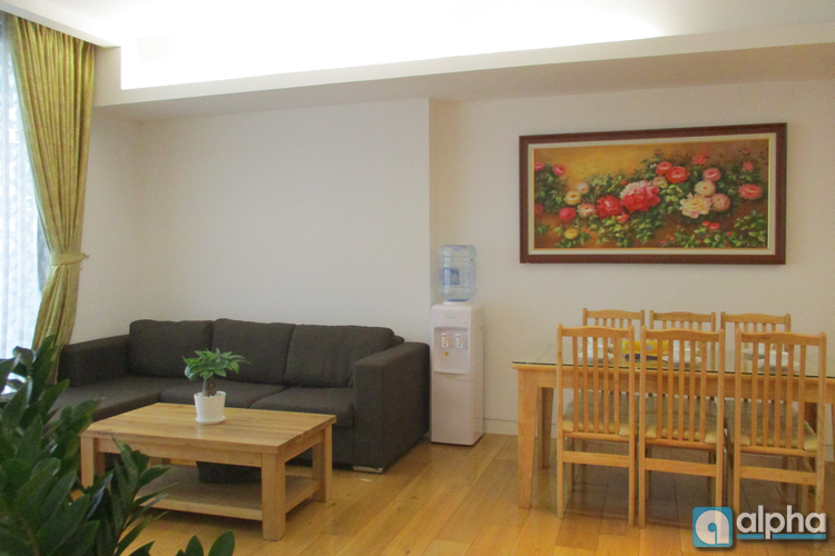 Cool and tidy 3 bedroom apartment for rent in Indochina plaza Hanoi