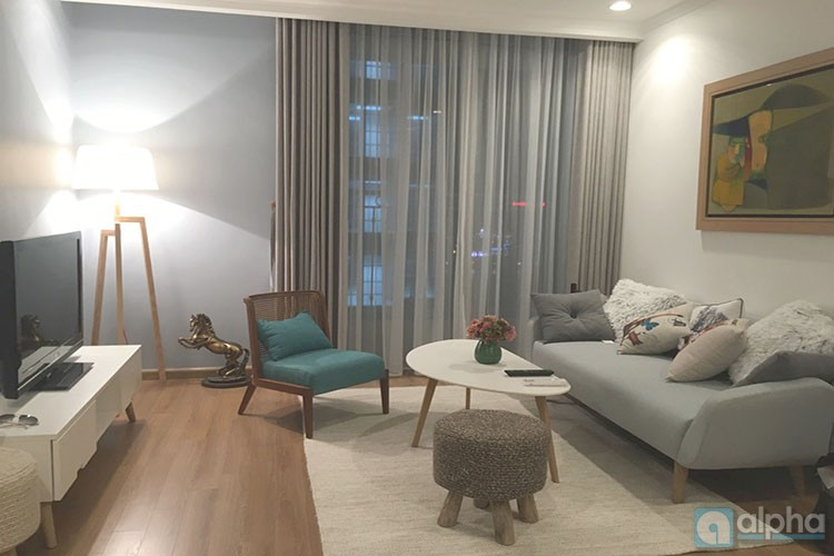 Super nice and new two bedroom apartment for rent in Vinhomes Nguyen Chi Thanh