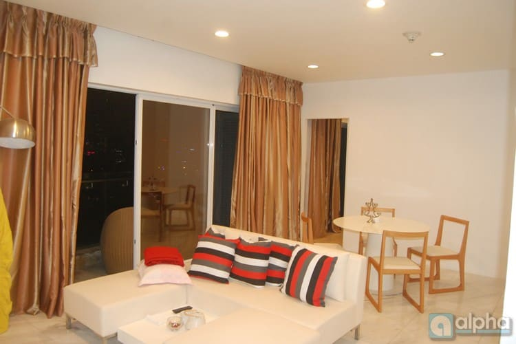 One bedroom in Golden Westlake Hanoi for rent