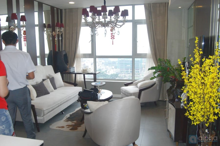 Luxury 02 bedroom apartment for rent in Tay Ho