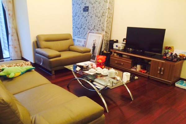 Furnished two bedroom apartment in Royal City, Thanh Xuan, Ha Noi for rent.