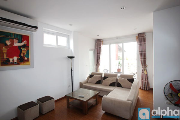 Two bedrooms apartment for rent in Tay Ho area with fully furnished