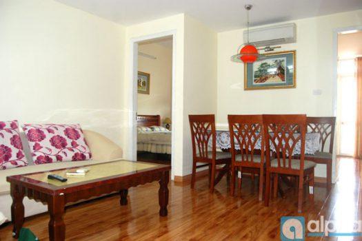 Căn hộ 2 phòng ngủ cho thuê tại Lạc Long Quân
