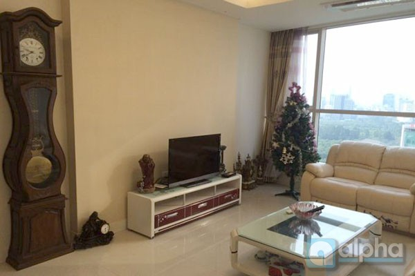 Luxury apartment for rent in Keangnam Tower with three bedrooms