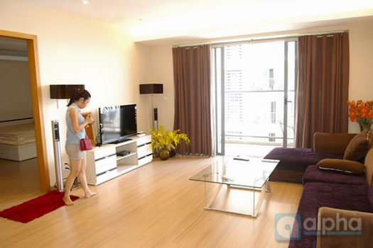 Luxury apartment with reasonable price for rent at Sky City Tower, Lang Ha street 3