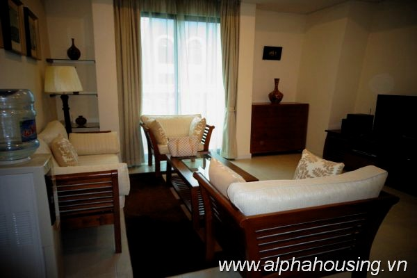 Rental two bedrooms apartment in Pacific Ha Noi