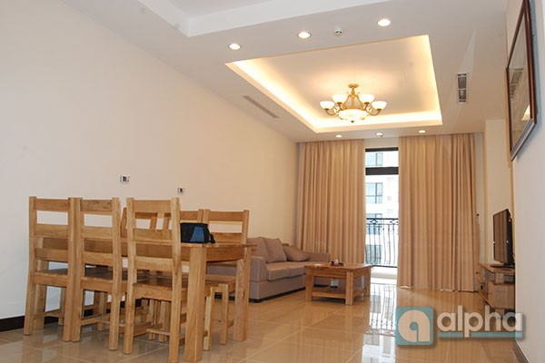 Royal apartment for rent in Nguyen Trai street, Hanoi, 2bedrooms, nice view