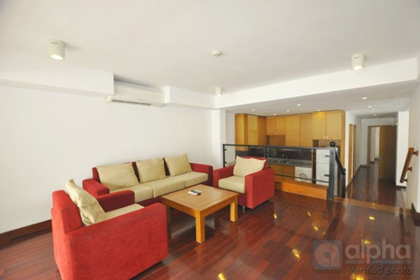 Lake view, 2 bedroom apartment for rent in Tay Ho area, Hanoi