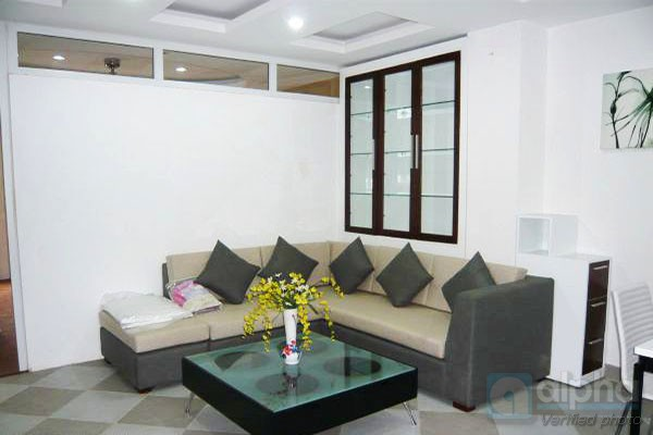 Attractive service apartment for rent in Hai Ba Trung area, one bedroom, one bathroom