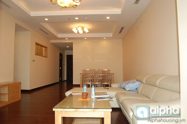 Stunning apartment for rent in Royal City Hanoi, 3 bedroom, Full & new furniture