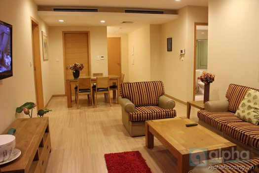 Modern style apartment for rent in Sky City, Lang Ha Str, 02 bedrooms, furnished. 4