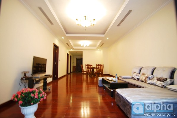 Spacious two bedrooms apartment for rent in Royal City,Thanh Xuan Dist, Ha Noi