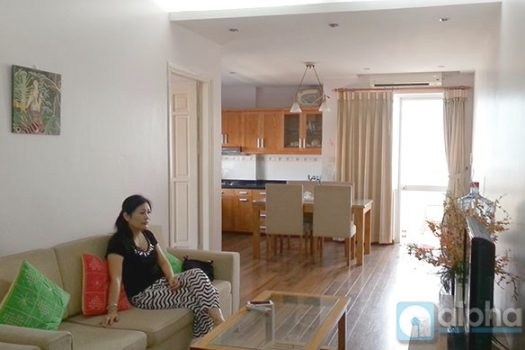 A nice two bedroom apartment for rent in Dong Da, Ha Noi 6