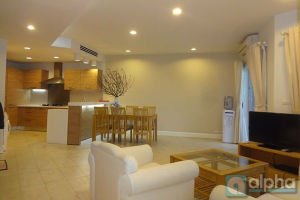 Panoramic Lake view apartment for rent in Golden West-Lake Building, Tay Ho area