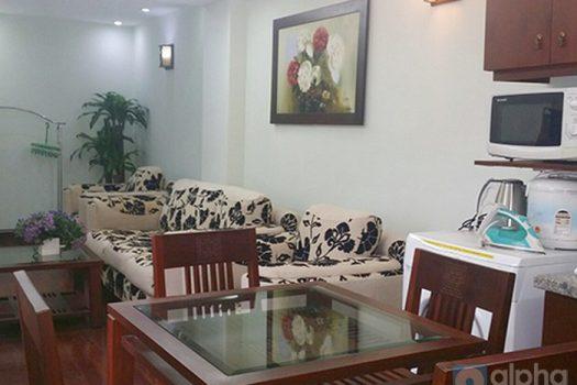 Cho thuê căn hộ dịch vụ 1 phòng ngủ tại Hoè Nhai