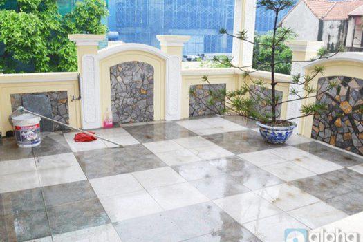 Nhà đầy đủ nội thấ đẹp cho thuê tại Đặng Thái Mai