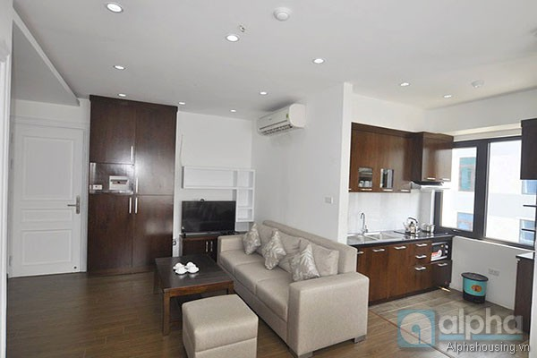 Modern one bedroom apartment for rent in Cau Giay.