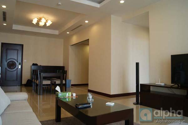 Three bedroom apartment for lease in Royal City, 72A Nguyen Trai Str, Hanoi