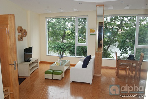 Brand-new apartment for rent in Truc Bach area, Hanoi, Front Lake