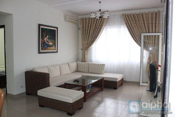 03bedrooms apartment for rent in Ngoc Khach, Ba Dinh, Ha Noi.
