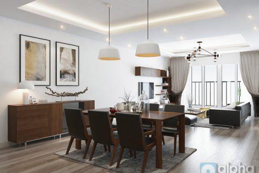 Cho thuê căn hộ nội thất hiện đại tại chung cư Mipec Riverside Long Biên