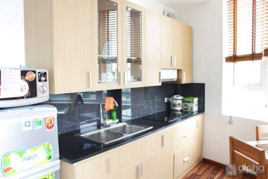 Cho thuê căn hộ dịch vụ mới hoàn thiện tại phố Nguyên Hồng