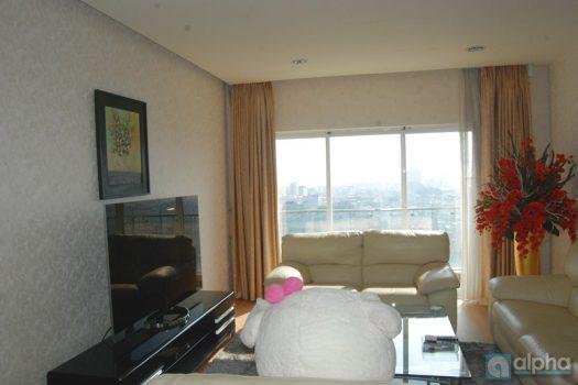 Căn hộ với nội thất hiện đại cho thuê tại tòa E Golden Westlake cho thuê gấp