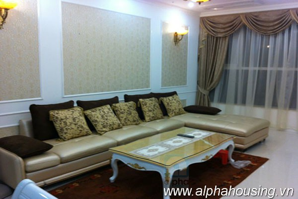High-end apartment with 3 bedrooms for rent at Keangnam Tower Hanoi