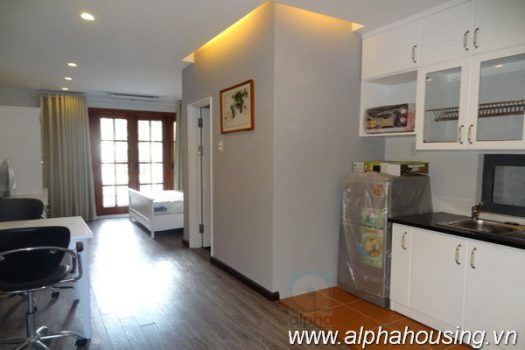 Newly serviced apartment in Hoan Kiem district for rent 6