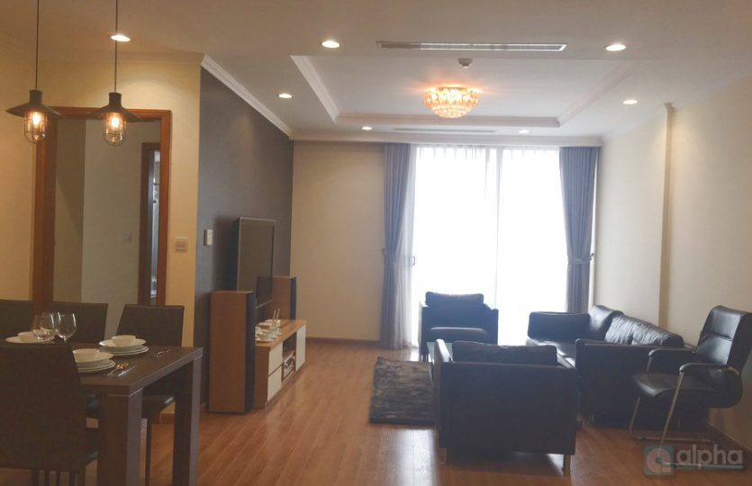 Luxury 3-bed apartment for rent in Vinhomes Nguyen Chi Thanh