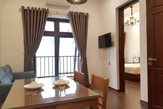 Cho thuê căn hộ dịch vụ 1 phòng ngủ nội thất đẹp tại Ba Đình