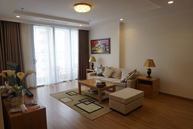 Fully furnished Apartment 3Br for rent in Vinhomes Nguyen Chi Thanh