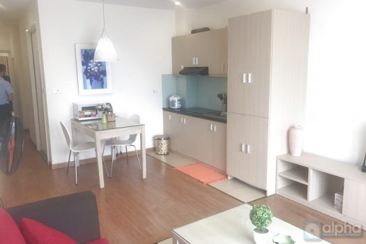 Serviced apartment with 1 bedroom, modern furniture to rent in Trung Kinh, Cau Giay dist 1