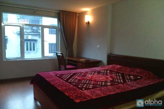 Cheap one bedroom apartment in Tran Quoc Hoan street Hanoi 4
