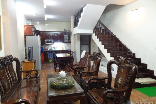 04 bedrooms house for rent in Ba Dinh near Hoa Binh Green Tower 6