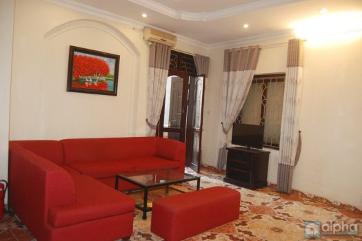 Budget one bedroom apartment in Truc Bach Lake, free cable TV, Wifi 5