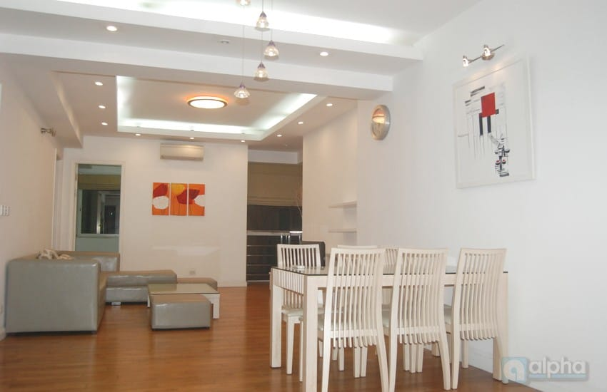 Ciputra Apartment three bedrooms for leasing