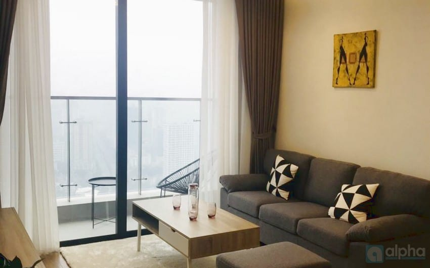 Modern 2 bedroom Apartment for rent in Vinhomes Metropolis
