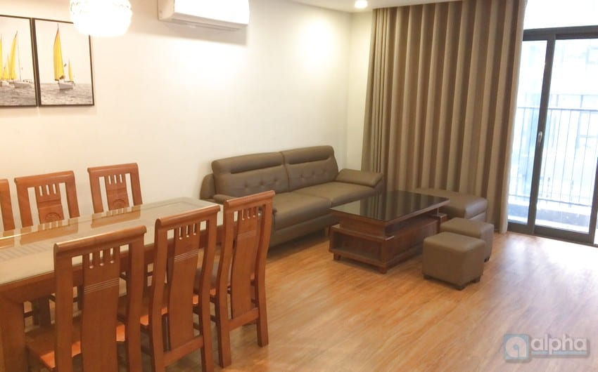 Two bedroom apartment for lease in Discovery Complex Cau Giay