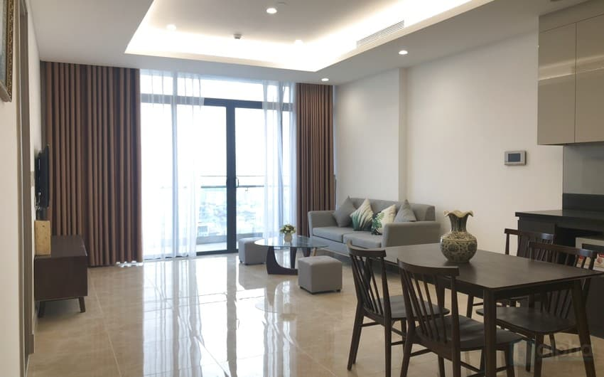 Brand new 02 bedroom apartment at SunGrand City for rent