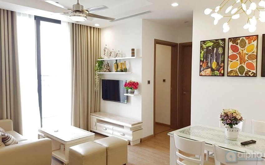 High floor modern apartment to rent next to My Dinh stadium