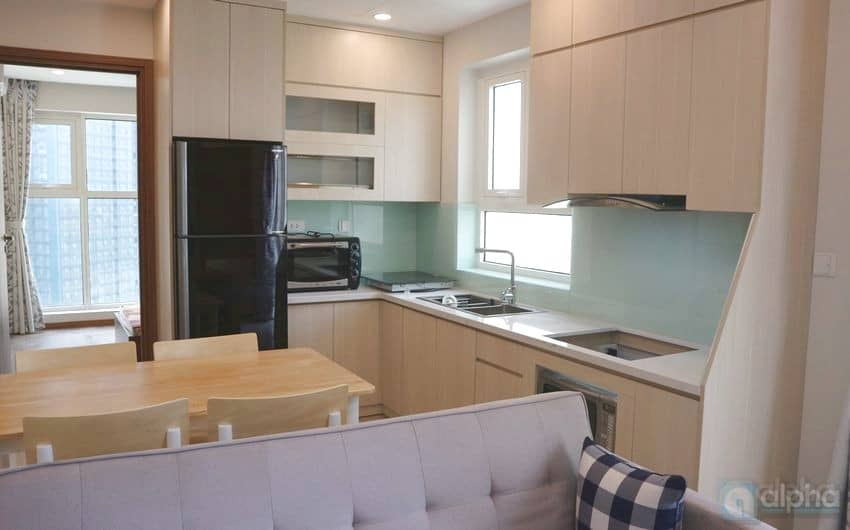 An amazing two bedroom flat to rent in L3 Tower, Ciputra