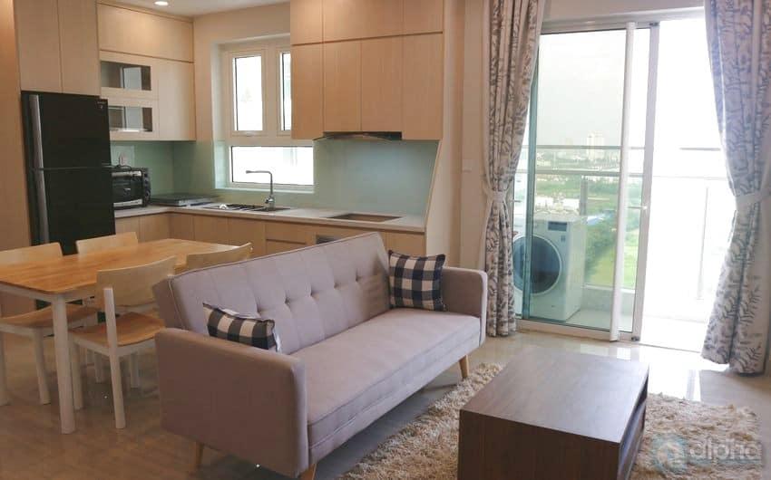 Cho thuê căn hộ 2 phòng ngủ view sân golf tại The Link 3 Ciputra