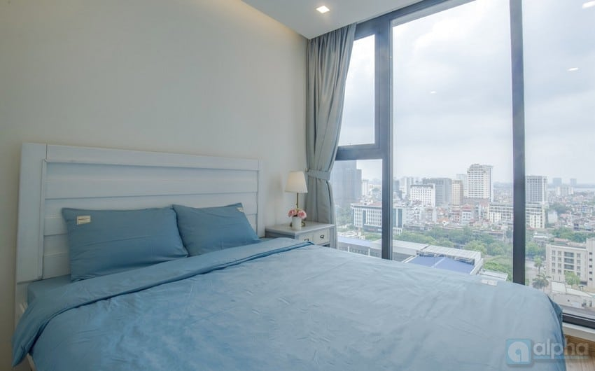 A stunning two bedroom flat to rent in Vinhomes Metropolis Lieu Giai – Ba Dinh