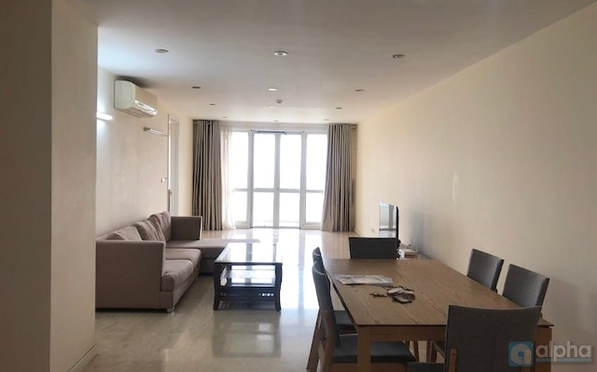 Ciputra  Hanoi – 03 bedrooms apartment at P Tower to rent
