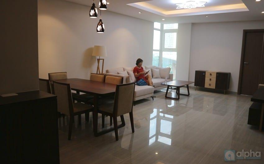 Căn hộ 3 phòng ngủ hiện đại cho thuê tại Ciputra Hà Nội