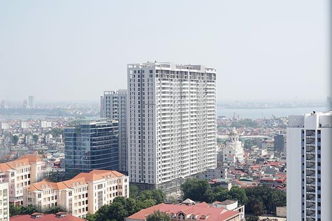 Chung cư cao cấp cho thuê tại Tràng An Complex